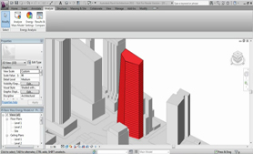 Introduction to Conceptual Energy Analysis in Revit Architecture