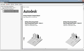 Comparing Conceptual Energy Analysis Results in Revit Architecture