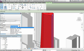 Modifying Masses to Optimize Conceptual Energy Analysis Results in Revit Architecture
